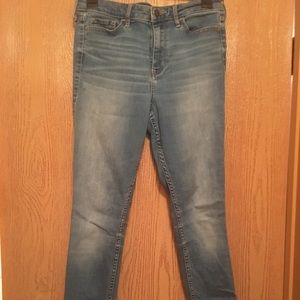 Hollister High Rise Super Skinny Denim Jeans